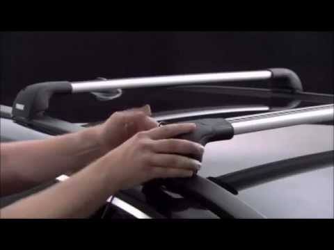 thule wingbar edge 959 youtube. Black Bedroom Furniture Sets. Home Design Ideas