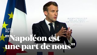 Ce qu'a dit Emmanuel Macron sur Napoléon Bonaparte pour le bicentenaire de sa mort