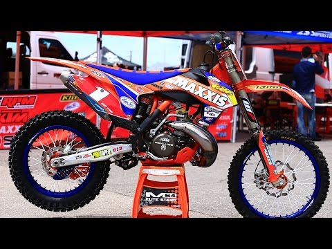 Inside Cody Webb's Factory RPM KTM 300 XC 2 Stroke - Bikes Of Endurocross