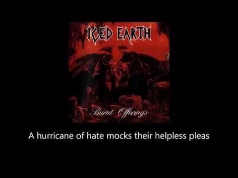 Iced Earth - Dante's Inferno (Lyrics)