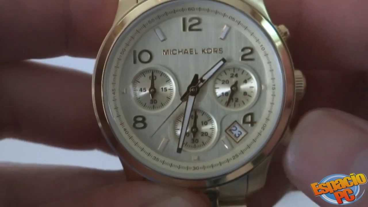 Michael kors MK5055 Reloj Dama YouTube