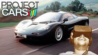 Oculus Rift DK2 - Project CARS - Mclaren F1 @ Le Mans