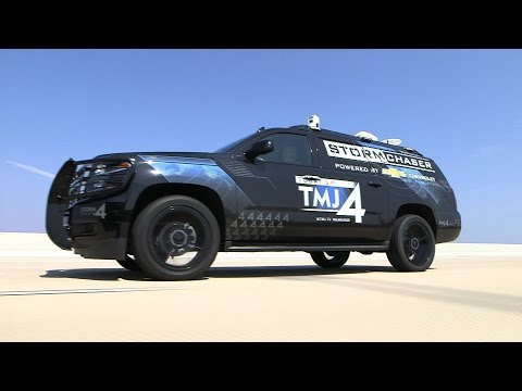 EXCLUSIVE TOUR: The TODAY'S TMJ4 Storm Chaser