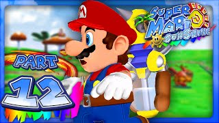 Super Mario Sunshine - Part 12 - Pianta Village! (Dolphin HD)
