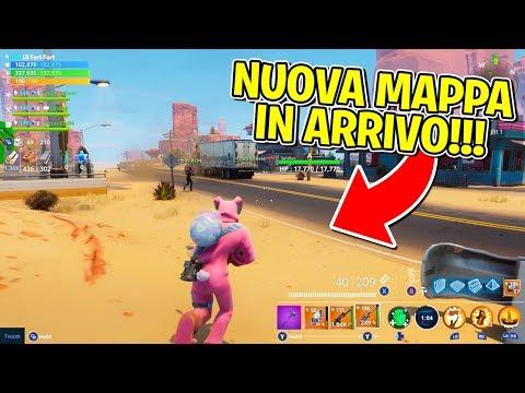 FORTNITE - NUOVA MAPPA IN ARRIVO!!
