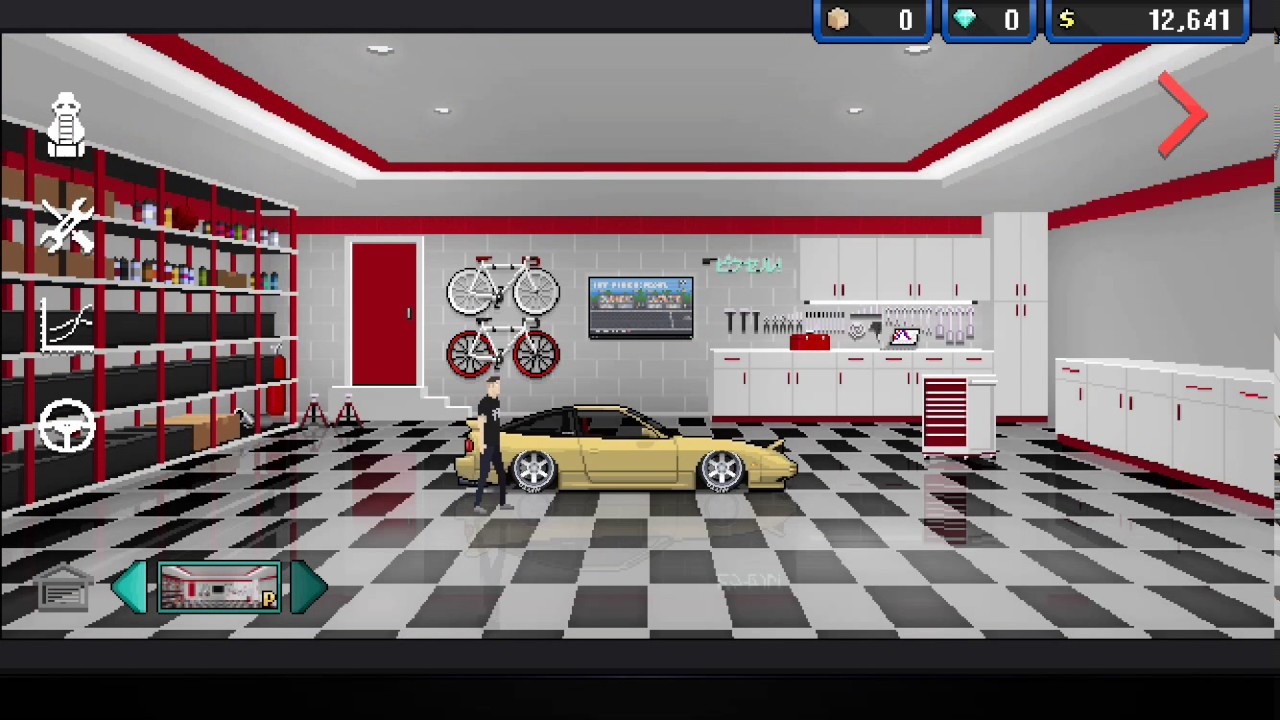 Pixel car racer why premium garages suck youtube for Garage pixel auto metz