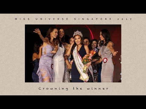Manuela Bruntraeger is crowned Miss Universe Singapore 2017