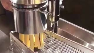 How to make 30cm long french fries