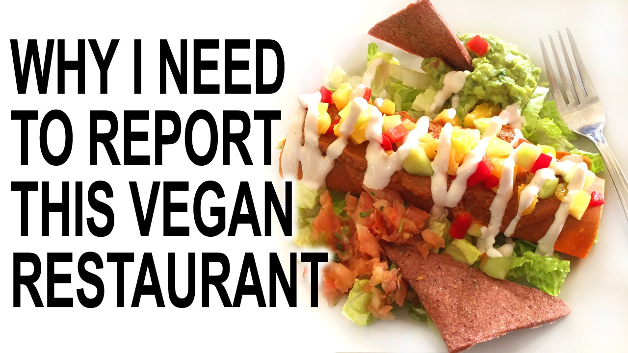 Humorous Review Some Of The Best Raw Vegan Food I Ever Tasted