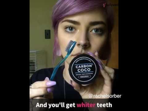 Teeth Whitening Using CHARCOAL?! | Daily Vanity