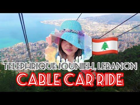 CABLE CAR RIDE JOUBIEH TO HARRISA LEBANON