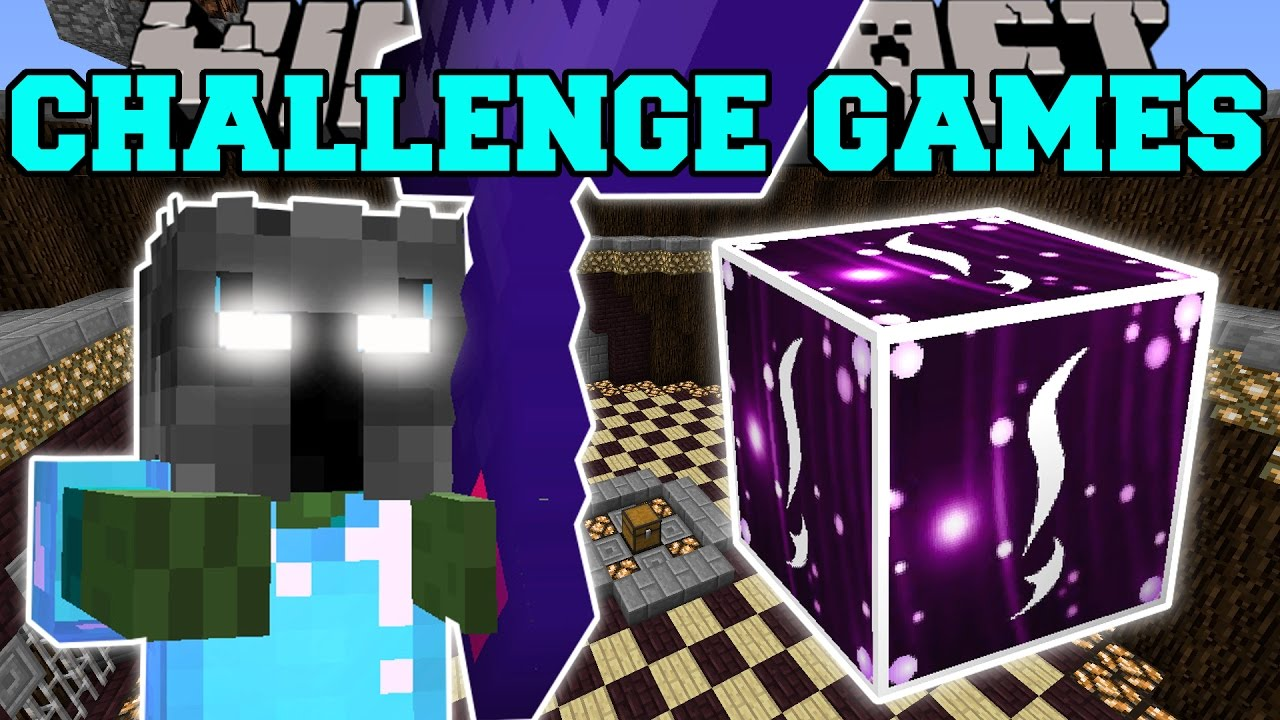 Minecraft: EVIL POPULARMMOS CHALLENGE GAMES - Lucky Block Mod - Modded Mini-Game