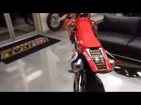 DeCal Works MX Plastic Honda CRF ReStyled Sideplates YouTube - Decal works graphics