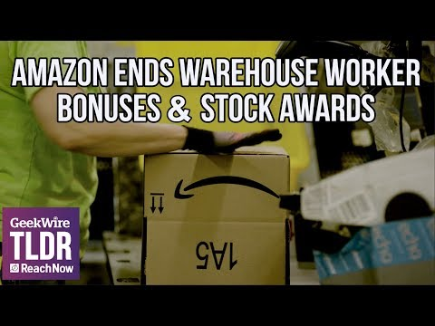📦📈Amazon Ends Warehouse Worker Bonuses & Stock Awards