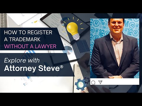 How to file and register a trademark WITHOUT a lawyer!!!
