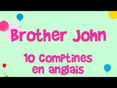 Steve Waring - Brother John - 10 comptines en anglais pour les enfants