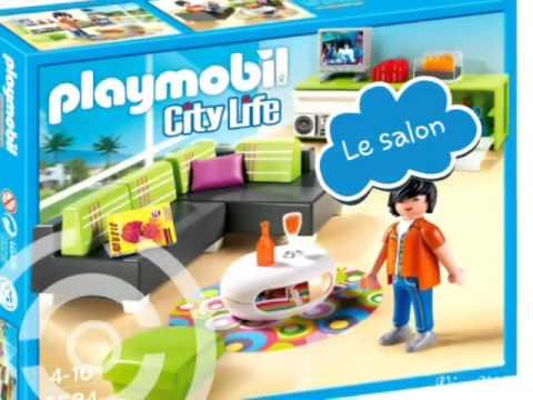 Playmobil 2015 : Thème de la villa de luxe - YouTube