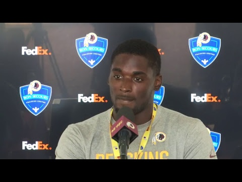 WATCH LIVE: Redskins RB Rob Kelley speaks to the media on day seven of #SkinsCamp.
