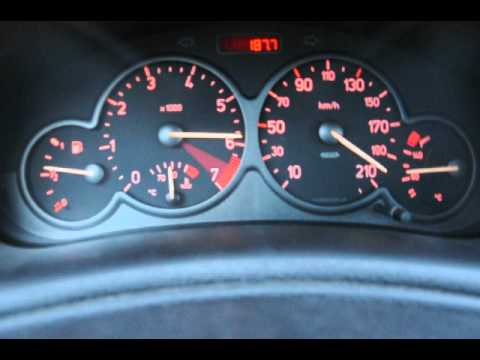 Peugeot 206 GTI Top Speed