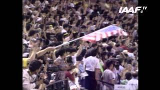 World Record - 100m Men Final Tokyo 1991