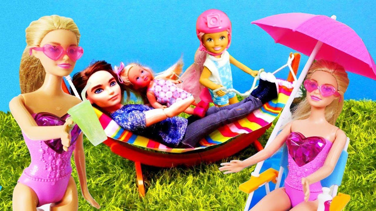 Сборник Барби все серии подряд: летние развлечения. Семья ...