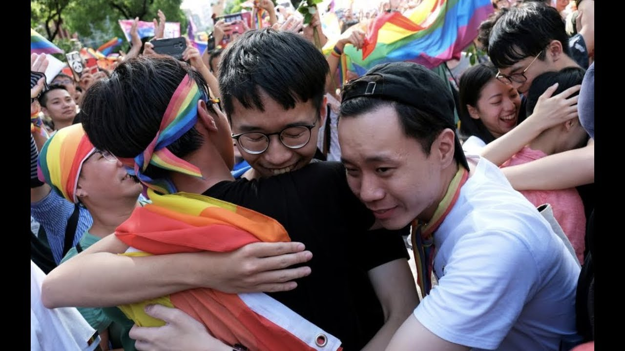 Taiwan Becomes First Asian Country To Legalize Same-Sex Marriage - Youtube-5102