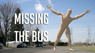 missing the bus - Funny 3D Walk Cycle Animation
