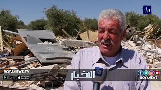 الاحتلال يهدم منزلاً في قرية قلنديا في القدس المحتلة