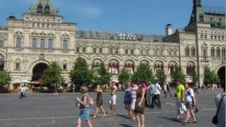 Moscow Tour: Red Square, Kremlin, Sapsan - HD