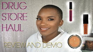 DRUG STORE HAUL, REVIEW, AND DEMO   BLACK RADIANCE & SKINCARE MASKS   BEAUTY BY KANDI