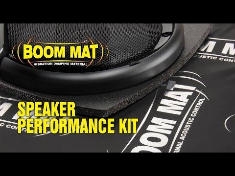 Boom Mat Speaker Performance Kit & Baffle Installation