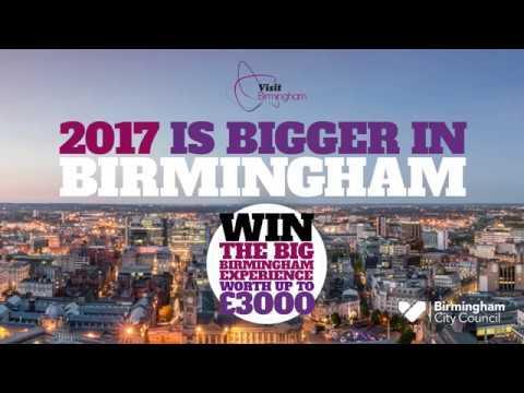 Shopping is BIGGER in Birmingham 2017