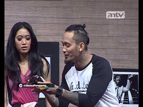 Sketsa Panggung ANTV Cafe Cinta w Widi Vieratale
