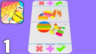 Fidget Trading 3D - Fidget Toys - Gameplay Walkthrough Part 1 All Levels 1-50 (Android & iOS) screenshot 2