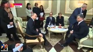 12.02.2015! Минск 2! Переговоры лидеров стран