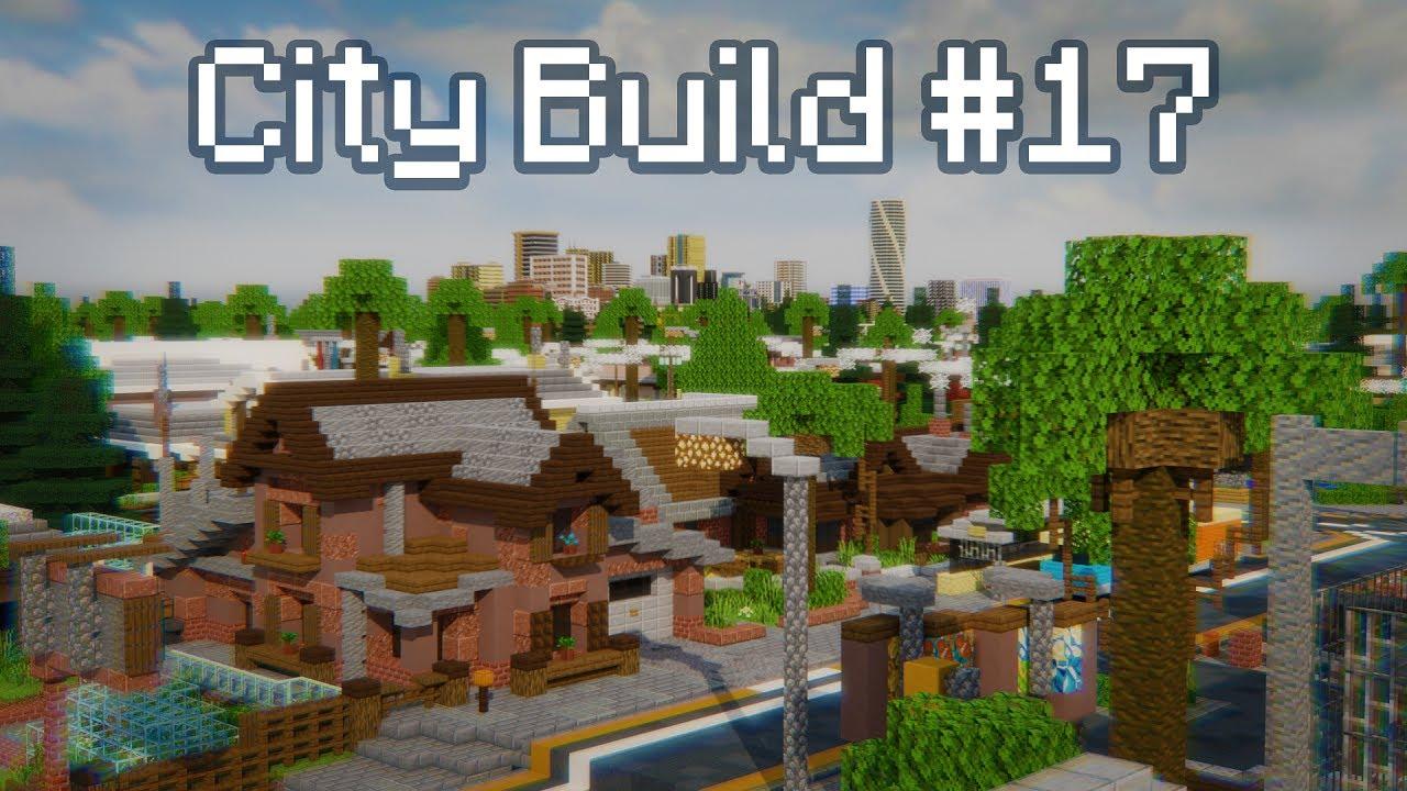 City Build #17 - The Suburbs! (Part 2) [Minecraft Timelapse]