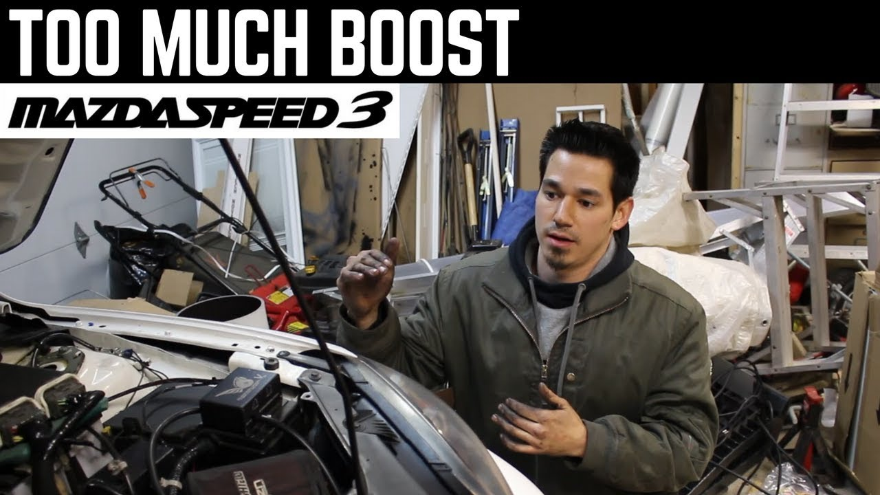 Mazdaspeed 3 - Boost Creep & Over boost Troubleshooting (BNR S4 Turbo)
