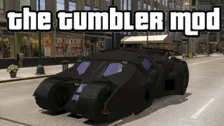 Grand Theft Auto IV - The Tumbler (Batmobile) HD