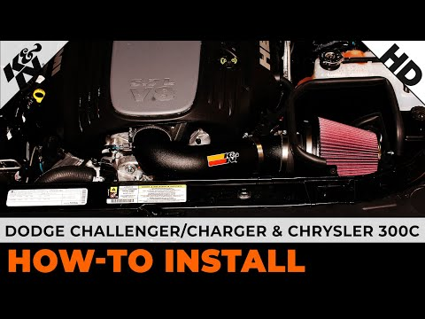 hqdefault air intake installation for 2011 2014 dodge challenger charger  at nearapp.co