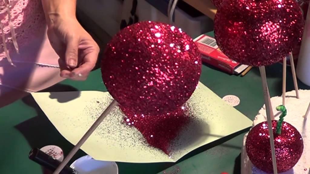 Glitter Apples Snow White Halloween Youtube