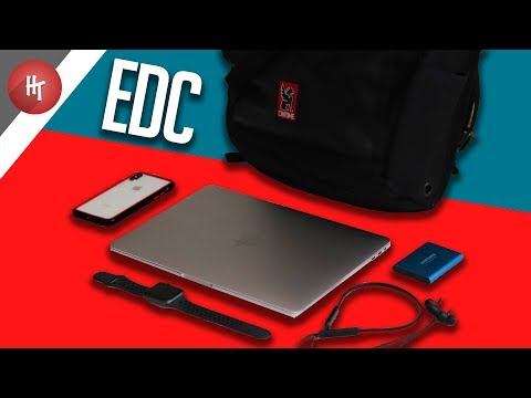 My TOP Daily Tech!   What's In My Tech Backpack 2018!