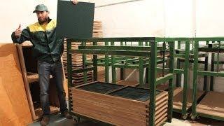 Оборудование для производства - Резиновая плитка – Покрытия из резиновой крошки – Плика резиновая(Компания