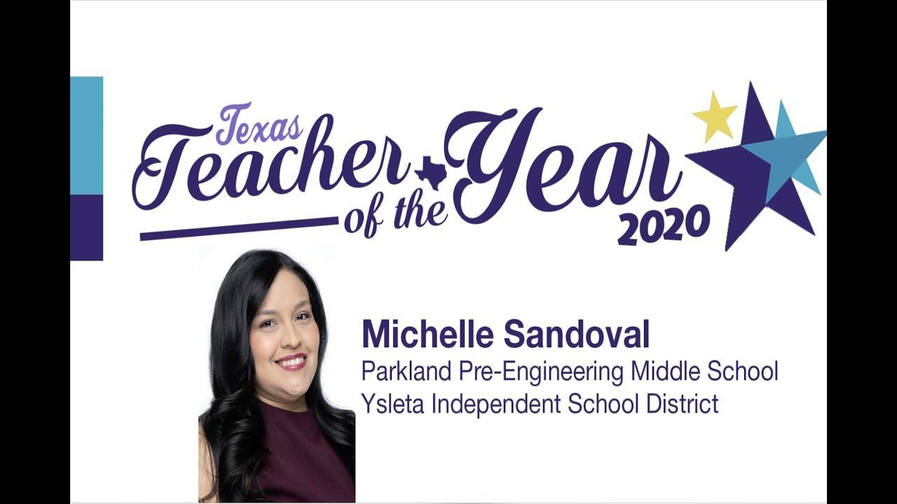 Parkland Graduation 2020.Michelle Sandoval Wins 2020 Texas Secondary Teacher Of The Year