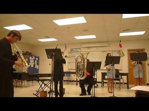 Marion HS Brass Ensemble Quintet - Feb 4, 2017