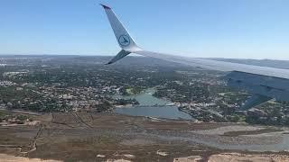 Portugal Landing Faro Luxair / Portugal Atterrissage Faro Luxair