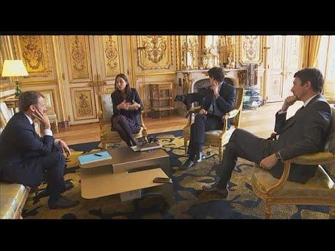 -نيمو-.. كلب الرئيس الفرنسي الذي -قاطع- اجتماعا في الإليزيه ليتبول  - نشر قبل 2 ساعة