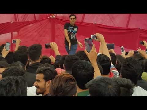 Mehroz Baig dancing on Afghan Jalebi At St.Patrick's College Karachi....