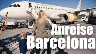 Barcelona mit KLEINKIND I fliegen mit VUELING I  Mellis Blog