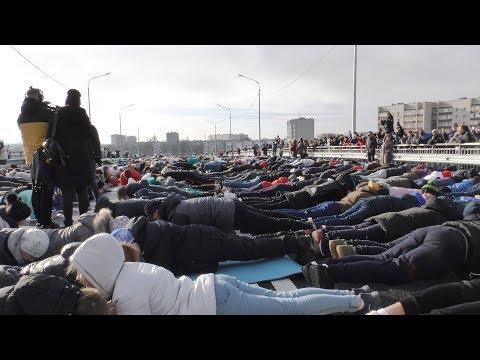 5 тыс. человек встали в планку в Ставрополье и побили мировой рекорд