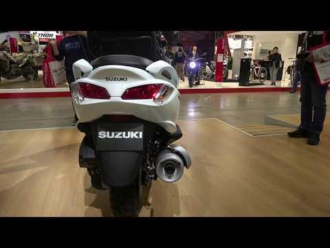 The 2020 Suzuki Burgman 200cc scooter
